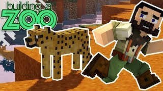 I'm Building A Zoo In Minecraft! - New Mods And Dangerous Kitty! - EP03