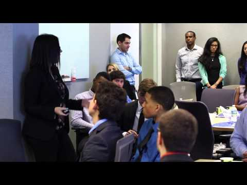 KPMG and the National Academy Foundation's Academy of Finance: Job Shadow Day