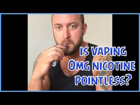 Is Vaping 0mg Nicotine Pointless?