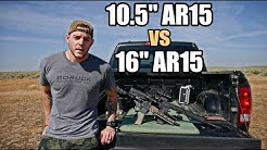 10.5 vs 16 inch AR15 Accuracy - MK18 vs RECCE 16