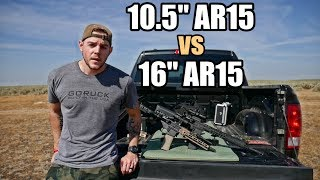 10.5 vs 16 inch AR15 Accuracy - MK18 vs RECCE 16