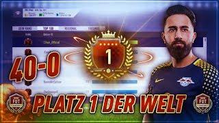 FIFA 18: PLATZ 1 DER WELT! 40-0 FUT CHAMPIONS GAMEPLAY! (118-2) | CIHAN YASARLAR