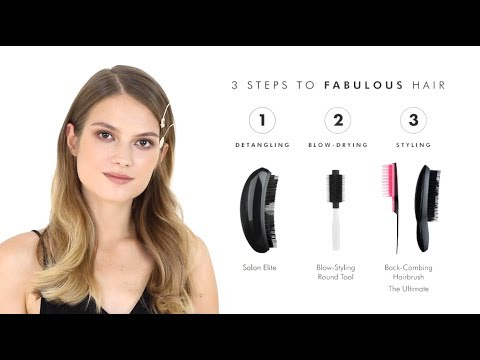 Tangle Teezer PRO: How to create luxe waves