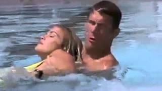 Baywatch Hawaii S9E3   Dawn Brandy Ledford faints in pool, Sean saves her UNCONSCIOUS