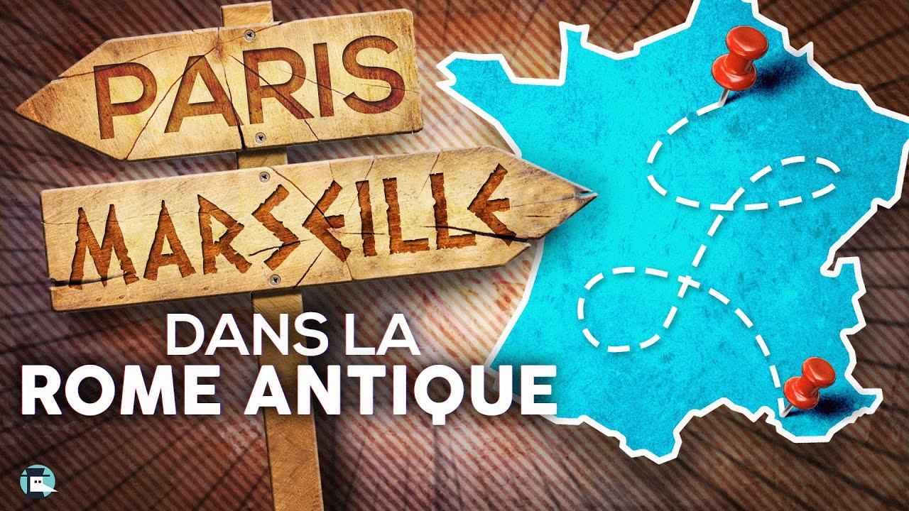 Combien de temps pour un Paris/Marseille dans l'Empire Romain ?