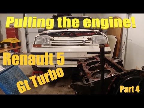 Renault 5 Gt Turbo Restoration - ENGINE OUT- Pt 4