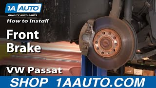 How To Install Replace Front Brakes VW Passat 98-01 1AAuto.com thumbnail