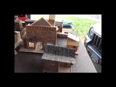 Old scratch built structures