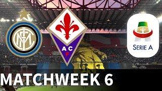 Inter Milan vs Fiorentina - Giuseppe Meazza Stadium - 2018-19 Serie A - PES 2019
