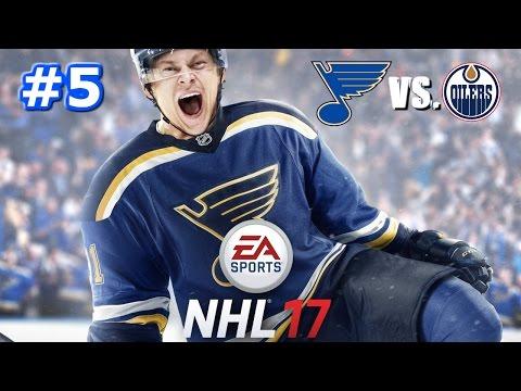 NHL 17 - St. Louis Blues Franchise #5 - Shutout!?!?!