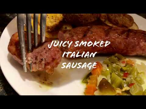 Smoked Italian Sausage - How To Cook On A Pellet Grill - Grilla Silverbac - Everyday BBQ