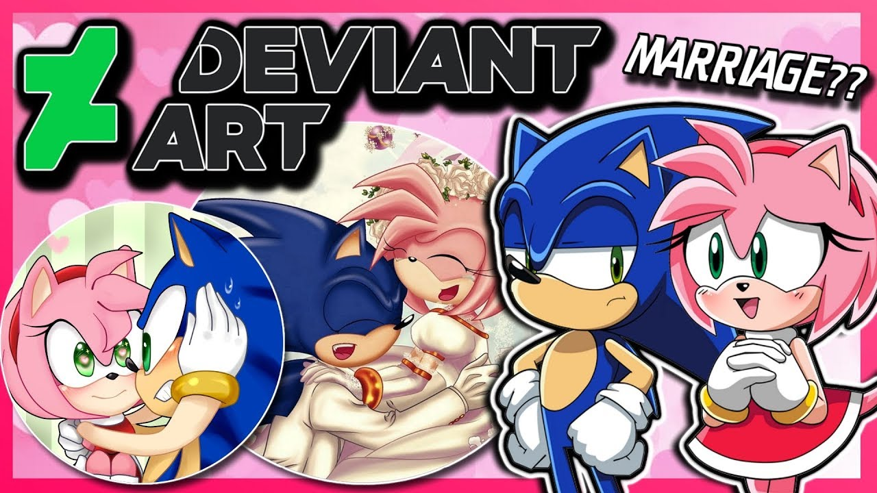 Sonic And Amy Vs Deviantart Again Ft Tails Youtube