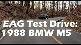 EAG Test Drive: The Honest E28 M5 - 1988 BMW M5