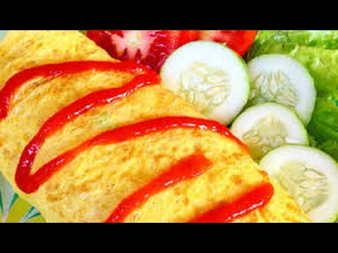 Resep nasi goreng selimut telur dadar ❤ Learn to make fried rice omelet blanket