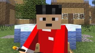 Zsanett legyél szombaton ötkor a Minecraftban!
