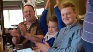 Toby Carvery reunites long lost brothers – short version