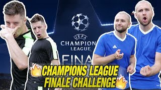 Champions League FINAL CHALLENGE - JUVENTUS VS REAL MADRID