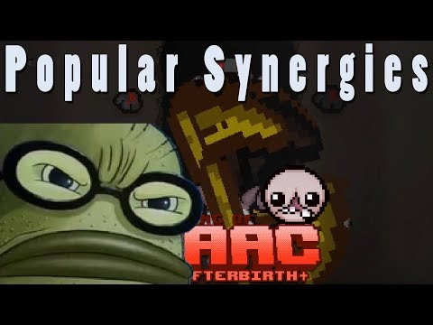 The Binding of Isaac Afterbirth Plus | Bubble Bass | Popular Synergies