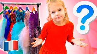 Vidéo pour les enfants - Mania veut être une princesse