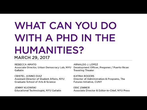 What Can You Do with a PhD in the Humanities?