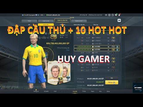 Đập Thẻ Cầu Thủ + 10    Upgrade Player + 10   砸玩家卡 + 10   FIFA ONINE 3 CHINESE   HUY GAMER