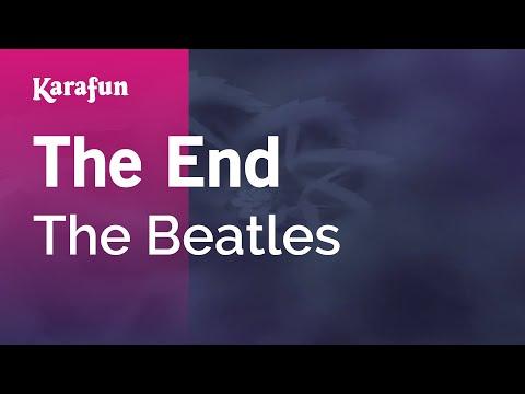 Karaoke The End - The Beatles *