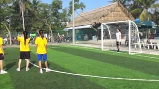 Giải bóng đá mini KIFOCAN (Nữ văn phòng - Nữ tổ lau lon)
