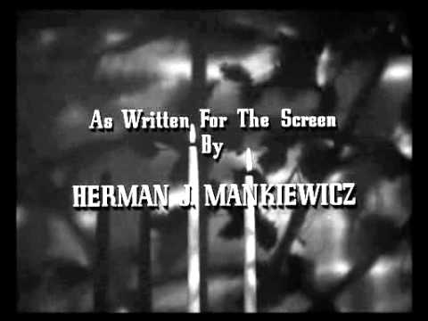 Christmas Holiday 1944   TITLE SEQUENCE