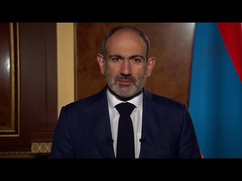 Обращение премьер-министра Республики Армения Никола Пашиняна