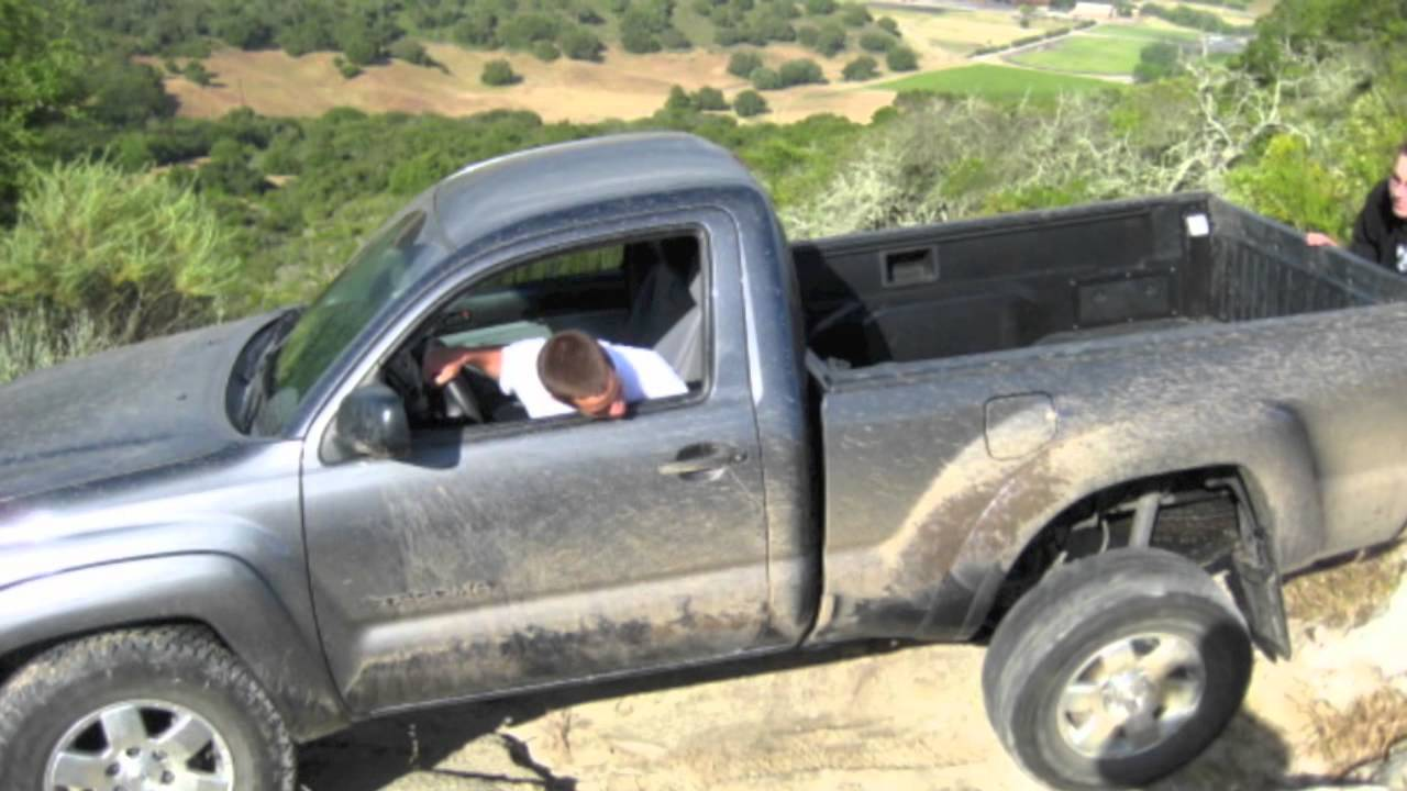 Toyota Tacoma Reg Cab And 4door Off Roading Youtube