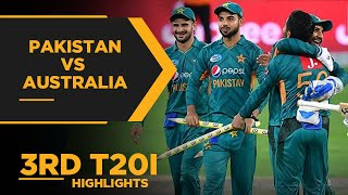 Pakistan vs Australia   3rd T20I Highlights   PCB   MA2E
