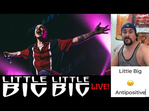 """LITTLE BIG — ANTIPOSITIVE """"Official Live Video"""" (LED Reacts....OMG THIS BAND LIVE!!!!!!!)"""