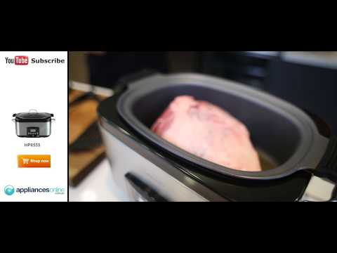 Cook Delicious Greek Roast Lamb In The Sunbeam HP8555 Slow Cooker - Appliances Online