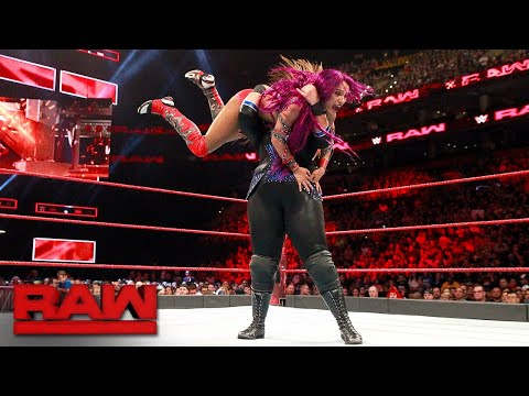 Sasha Banks vs. Nia Jax - Winner Challenges for Raw Women's Title at SummerSlam: Raw, Aug. 14, 2017