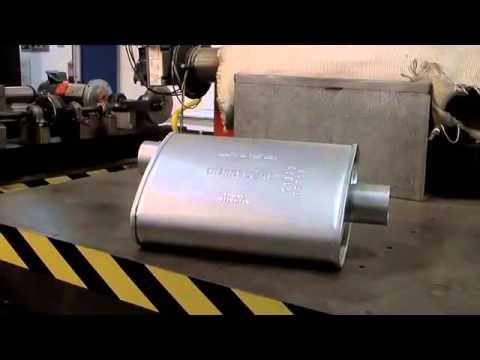 chambered turbo  glasspack muffler summit racing quick flicks funnycattv