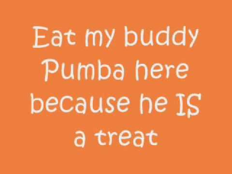 Lion King Timon and Pumbaa Hula Song