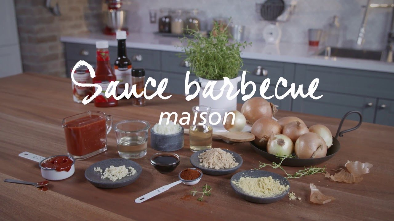 recette de sauce barbecue maison youtube. Black Bedroom Furniture Sets. Home Design Ideas