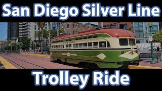 San Diego Silver Line Trolley Ride - A Life In Video 15