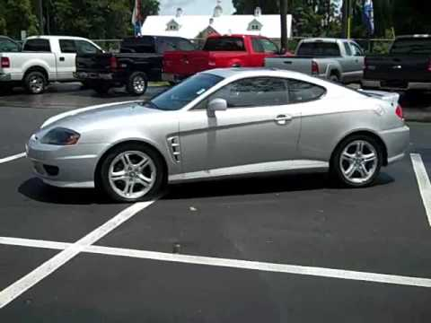 Video Used 2005 Hyundai Tiburon Gt For Sale Gainesville Fl