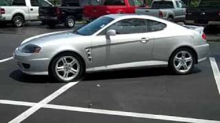 video used 2005 Hyundai Tiburon GT for sale Gainesville Fl 1-866-371-2255