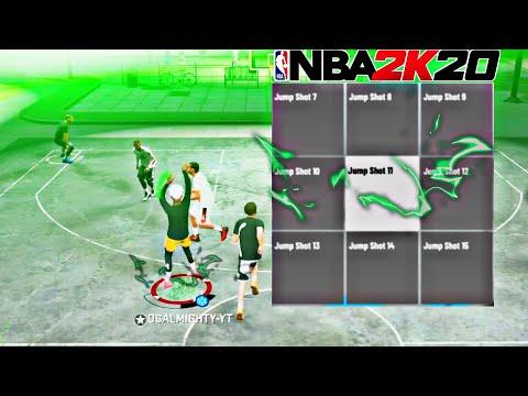 NBA 2K20 HIGH GREEN WINDOW JUMP SHOT!! NBA 2K20 BEST JUMPSHOT / NBA2K20 CUSTOM JUMPER