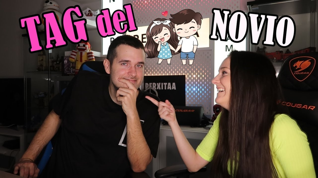 TAG DEL NOVIO   VIOLETA VS PERXITAA - YouTube