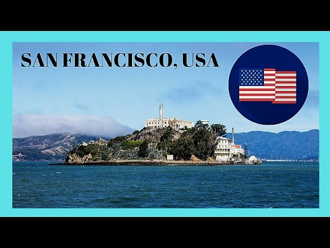 SAN FRANCISCO, tour of the HISTORIC island prison of ALCATRAZ  (California, USA)