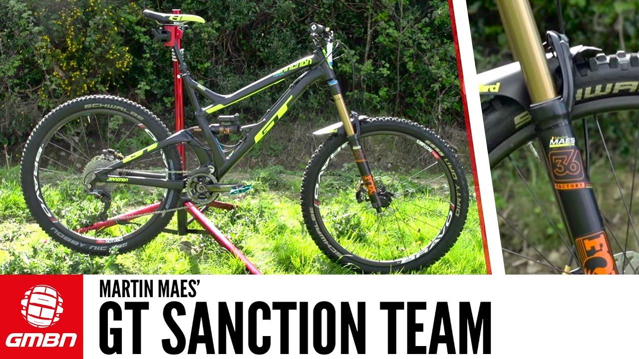f3b76e62a99 Martin Maes' GT Sanction Team Bike + Martin Maes Interview - YouTube