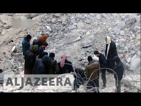 Air raid hits Syria mosque, civilians killed