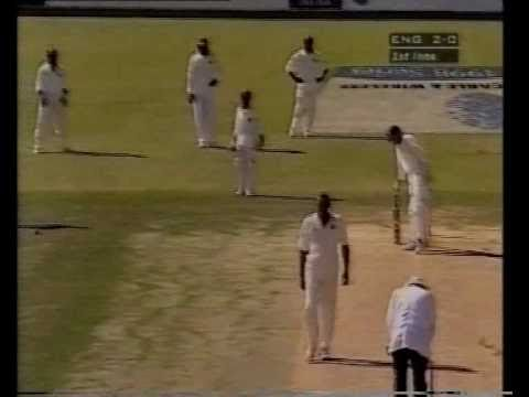 WORST PITCH OF ALL TIME - JAMAICA 1998 West Indies v England 1st test