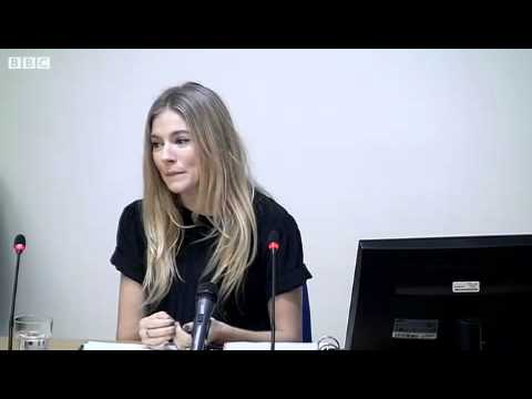 Leveson Inquiry: Sienna Miller Gives Evidence