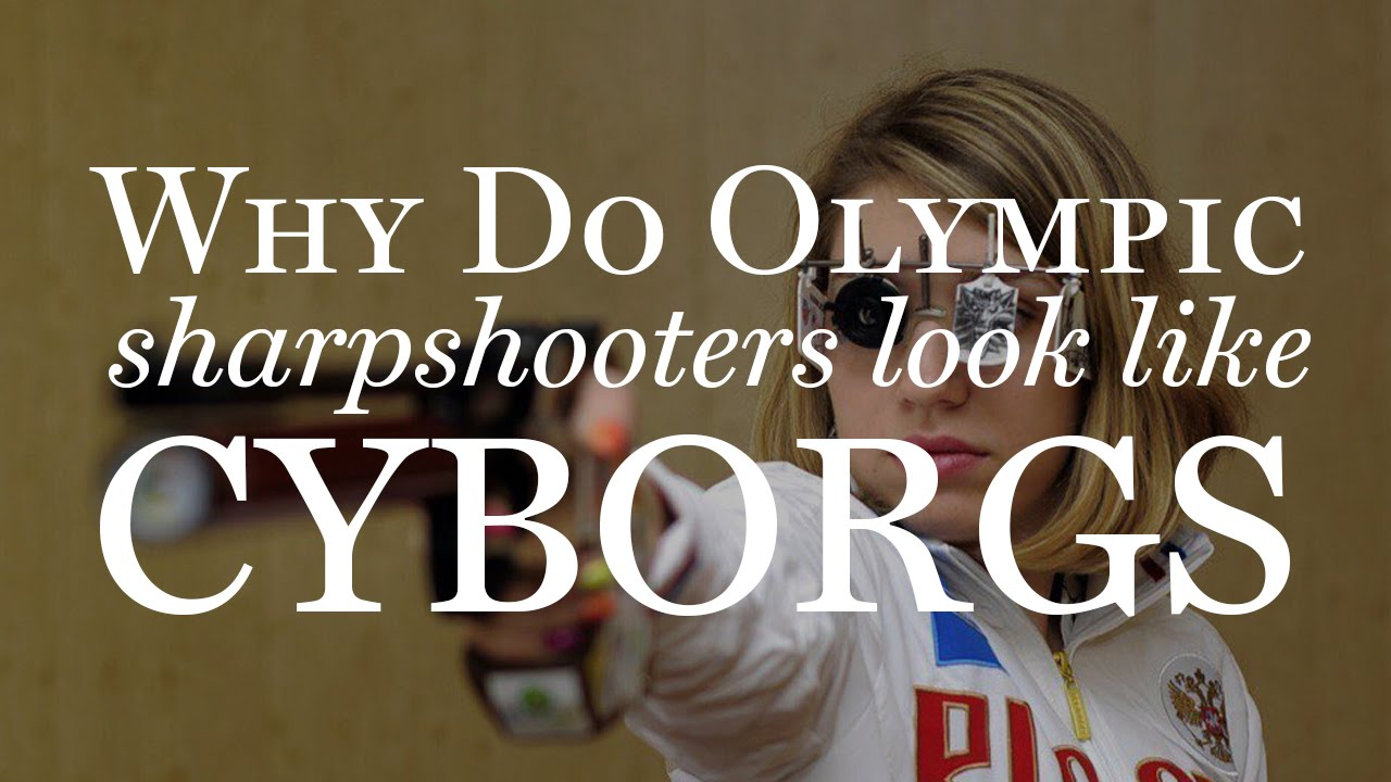 7a6345eefb9 Why Olympic Sharpshooters Look Like Cyborgs - YouTube