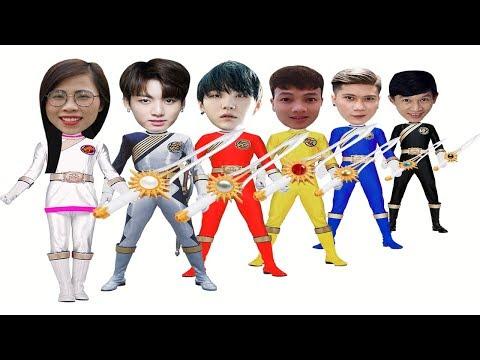 SIÊU NHÂN GAO - 5 anh em siêu nhân ( SUPER GAO - 5 superheroes) - Đoàn Vlog