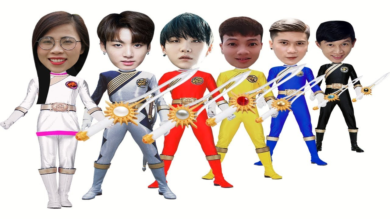 SIÊU NHÂN GAO – 5 anh em siêu nhân ( SUPER GAO – 5 superheroes) – Đoàn Vlog